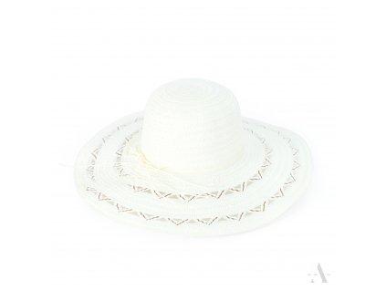 Dámský letní klobouk bílý