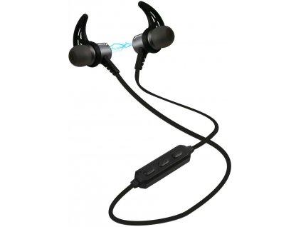 SBS Sportovní magnetická sluchátka, černé