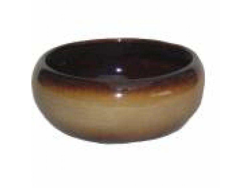 Keramická aranžovací miska č. 1 průměr 18 cm, výška 8,5cm-MIX