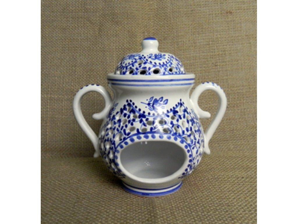 Keramická aroma lampa - řezaná