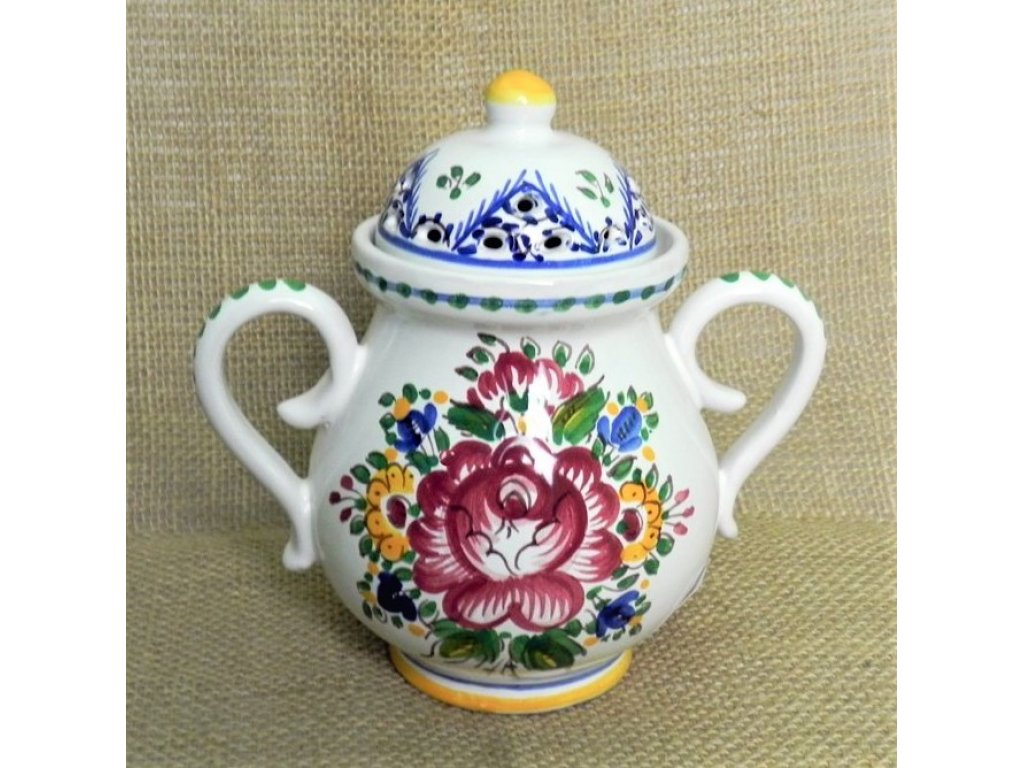 Keramická aroma lampa řezaná