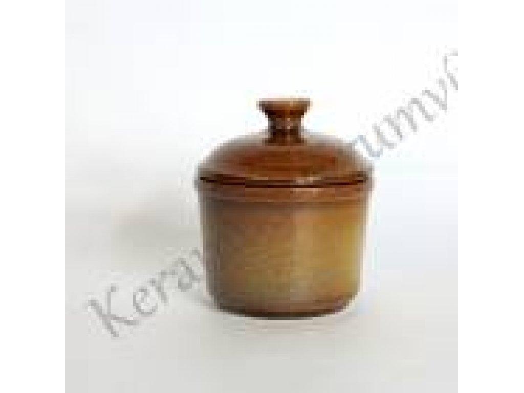 Keramická cukřenka kávová -  průměr 9,5 cm, výška 7 cm, objem 0,20 l