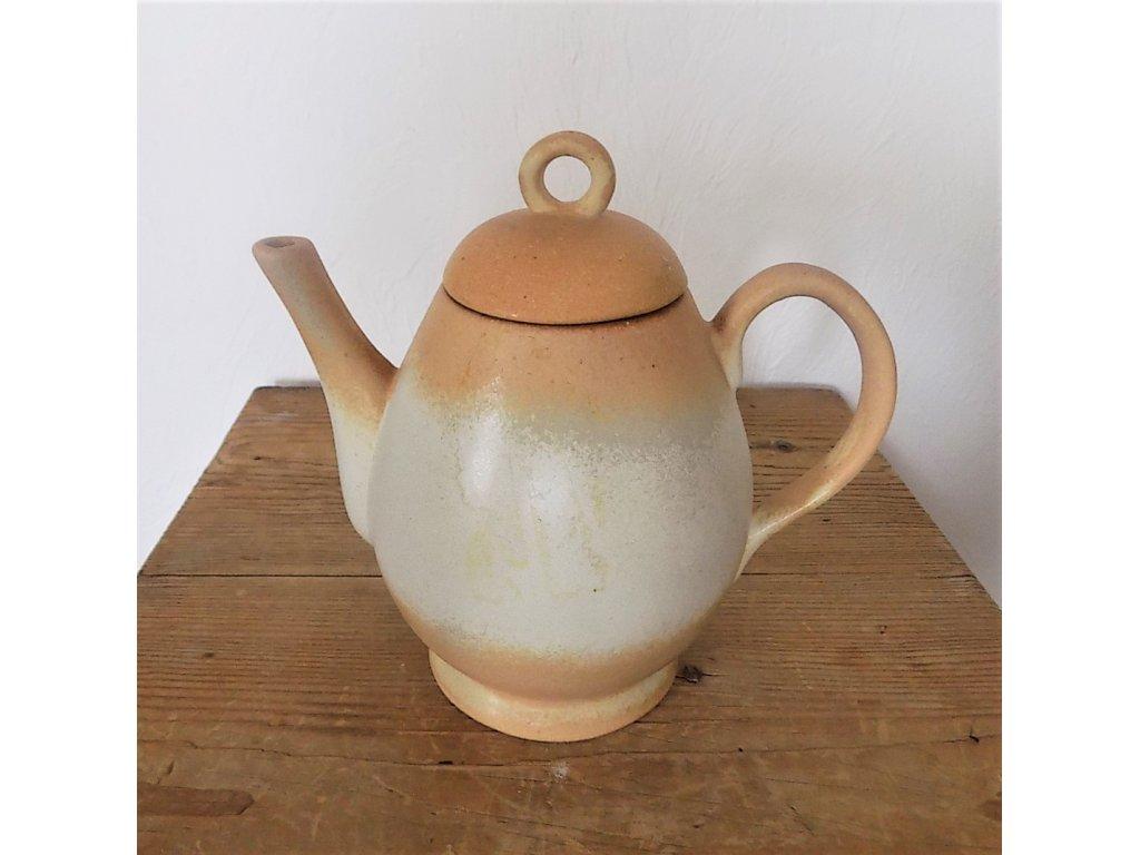 Keramická konvice Dana objem 1,2 litru  Sahara, keramika