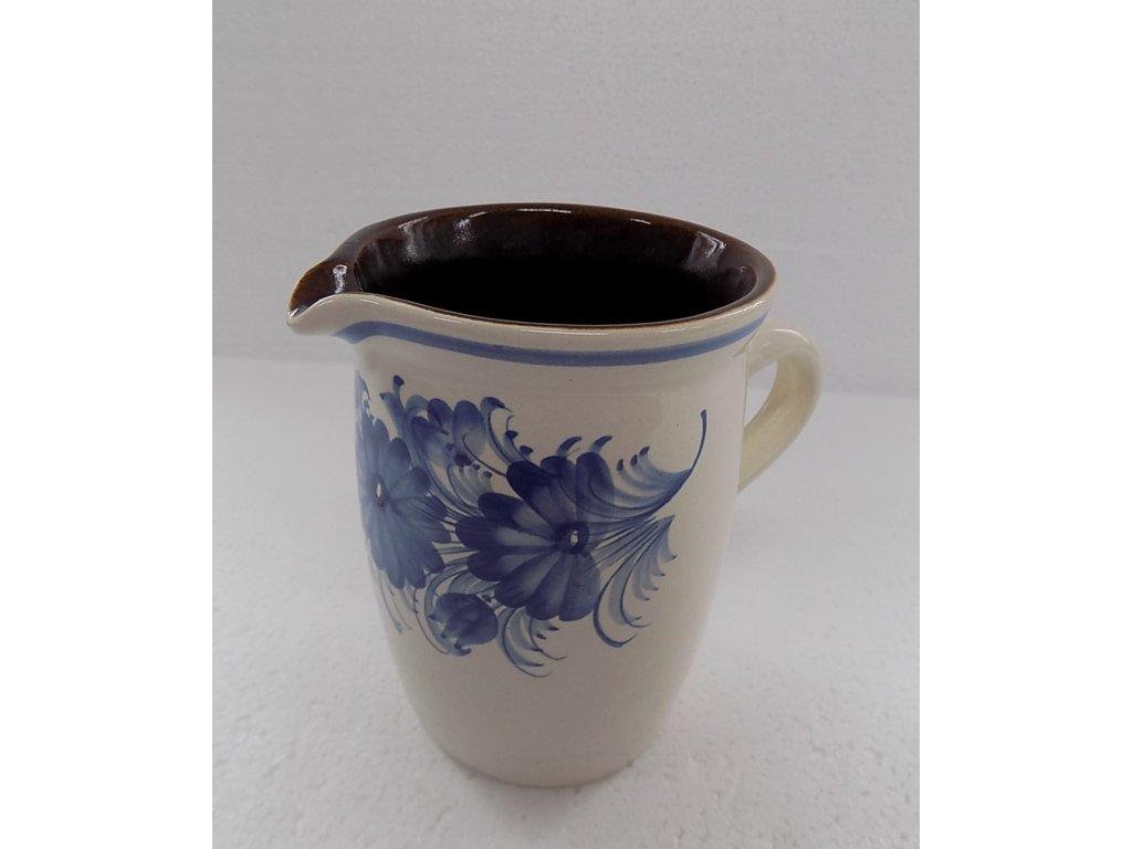Keramická mlékovka na mléko ke kávě, čaji v. 16 cm - 9.