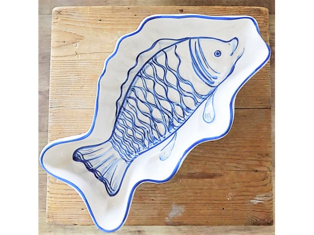Keramická pečící forma kapr - ryba