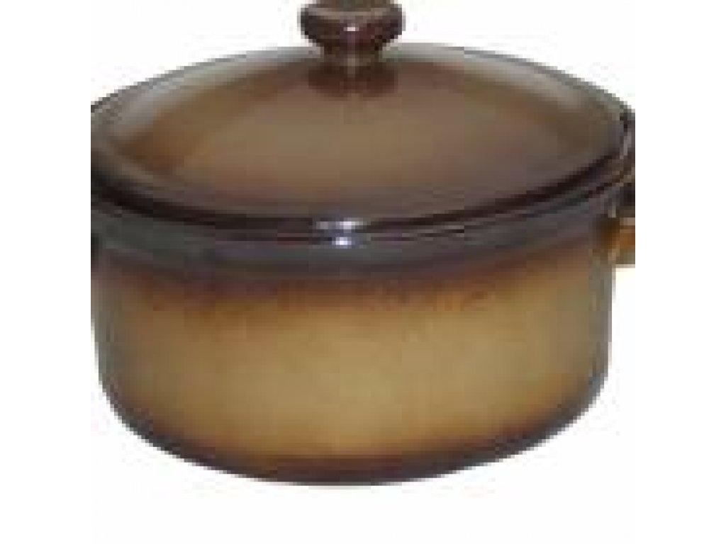 Keramická polévková mísa s víkem o obsahu 2,8 litrů
