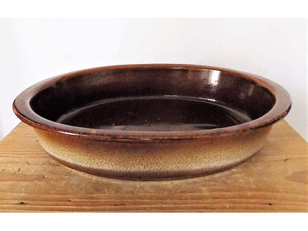 Keramická zapékací mísa velká délka 32 cm, šířka 22 cm, výška 6 cm, objem 1,5 l