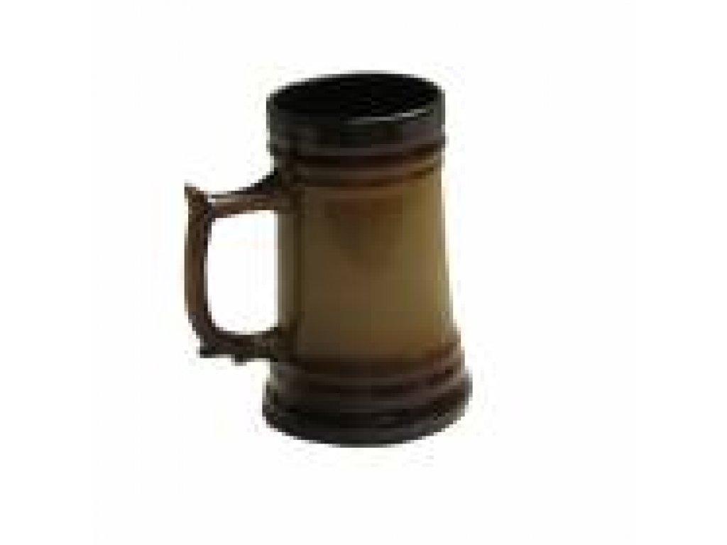 Keramický korbel Jakub objem 1,1 litrů