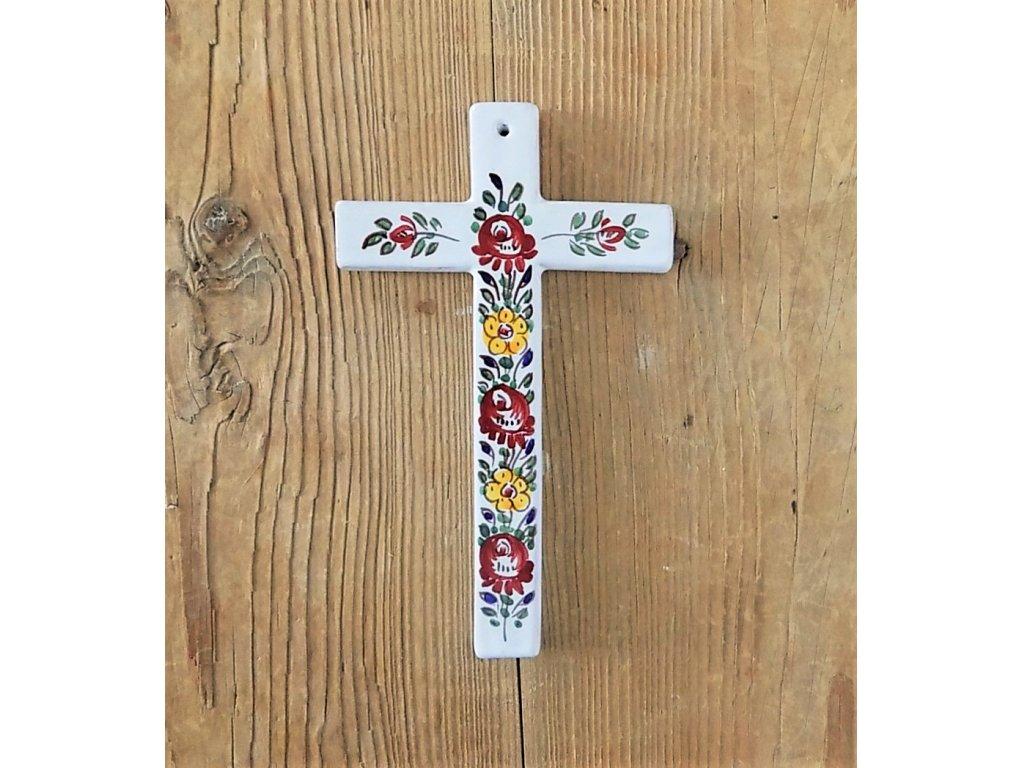 Keramický křížek, slovácký