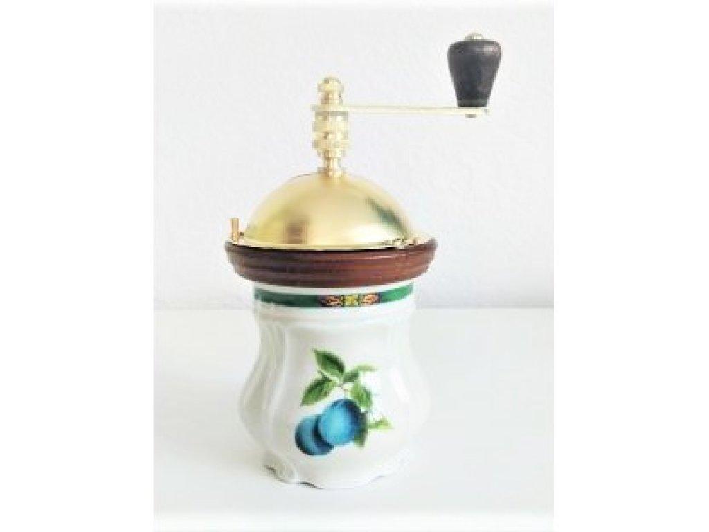 Keramický mlýnek na kávu Mozart - švestky