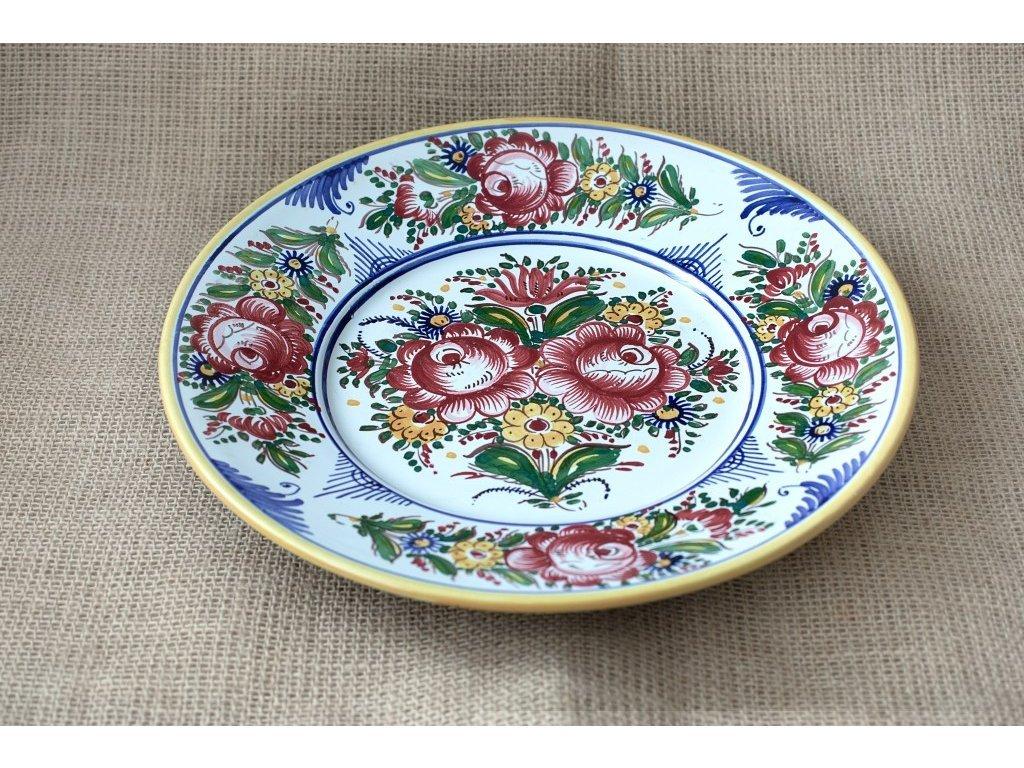 Keramický talíř slovácký