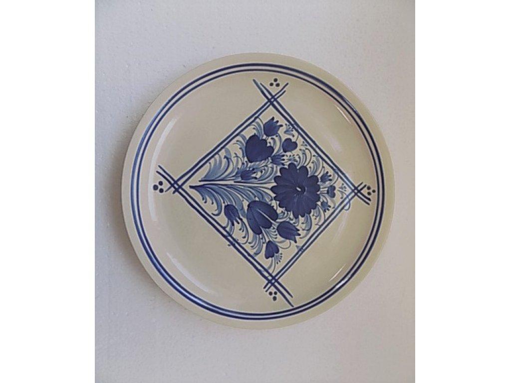 Keramický talíř velký - na pizzu - 1.