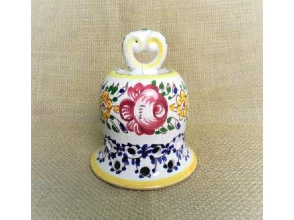 Keramický zvoneček dírkový