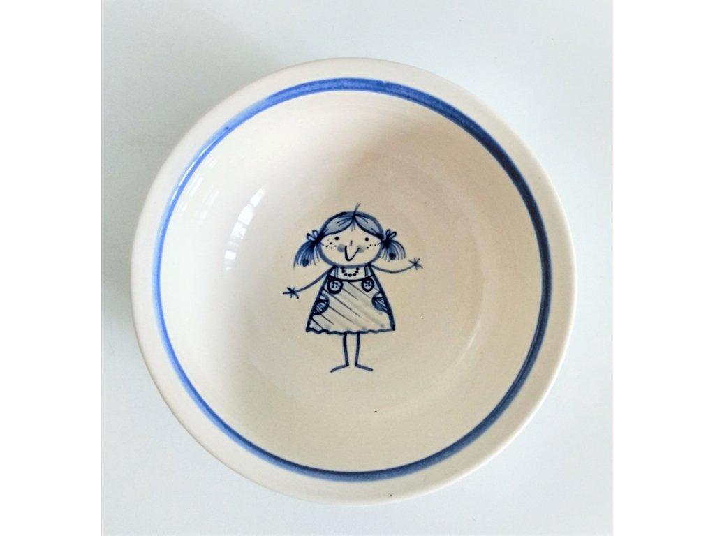 Miska pro malé holky - pihatá