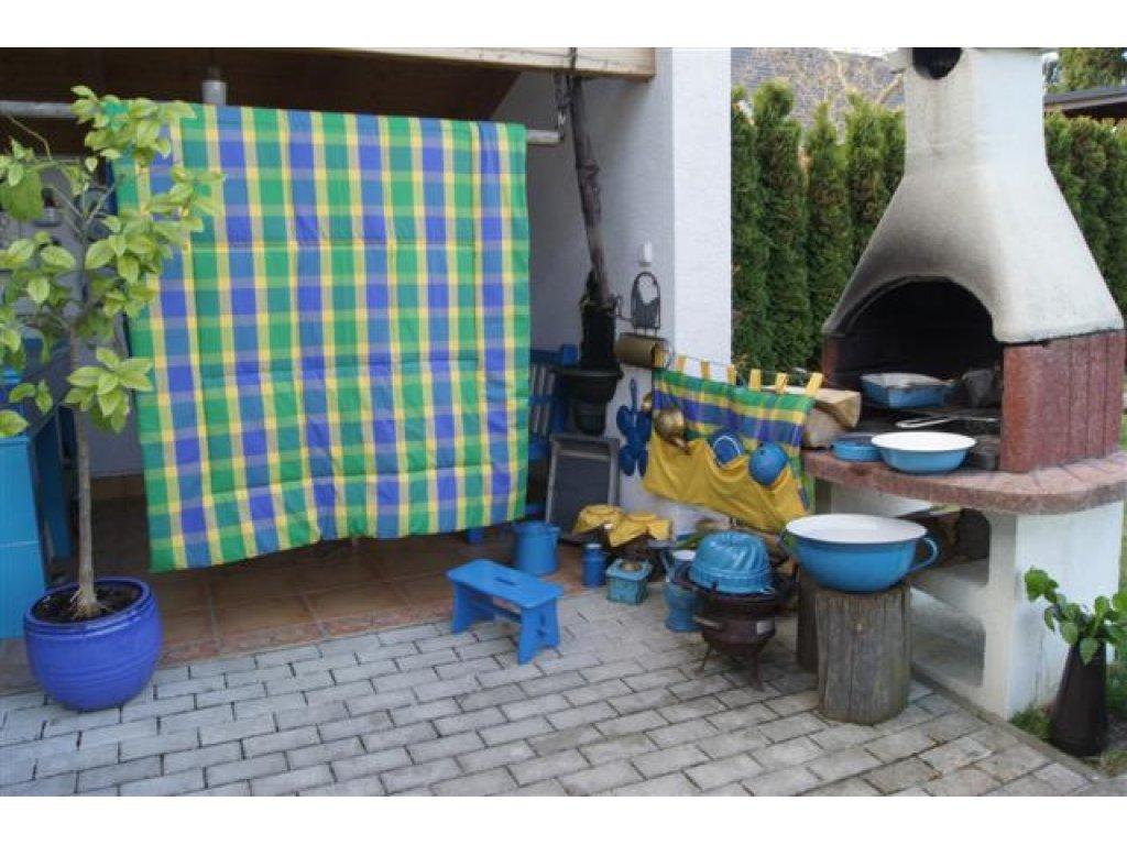 Přehoz na postel Mirka prodloužený, 140x220 cm, bavlna, kanafas