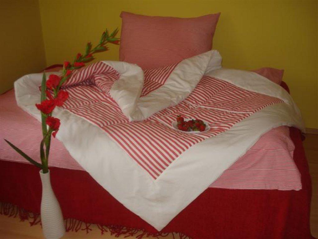 Přehoz na postel Míša 1+bílá prodloužený, 140x220 cm, bavlna, kanafas