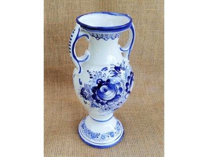 Amfora modrobílá - keramika tupeská