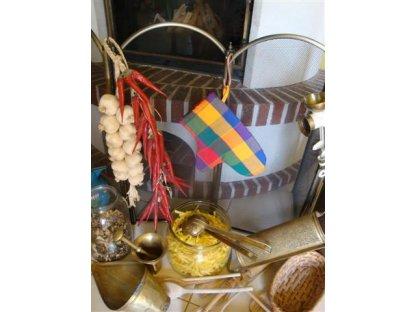 Chňapka Tomáš 5, barevné kostky, kanafas