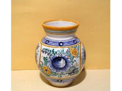 Dekorační váza, habánská keramika