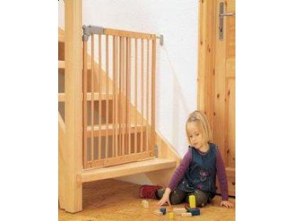 Dětská dřevěná zábrana Pí - lakovaný buk