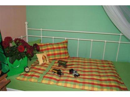 Dětské povlečení Ilona, peřina+polštář, kanafas 130x90cm, 60x40 cm