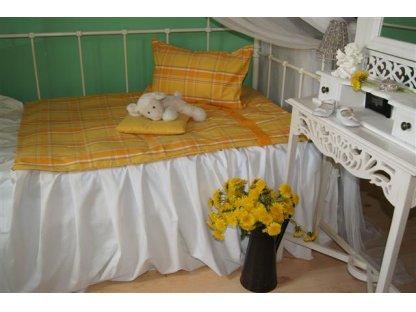 Dětské povlečení Laura, peřina+polštář, kanafas 130x90cm, 60x40 cm