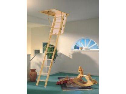 Dřevěné půdní schody mini, zakázkové - 3.