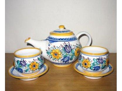 Keramická čajová souprava