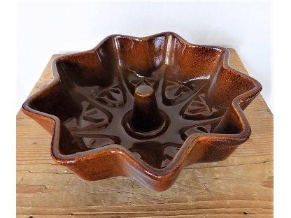 Keramická forma na pečení Hvězda-průměr 26 cm, objem 1 litr