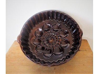 Keramická forma na pečení Koláč-průměr 24 cm. Objem 1 litr.