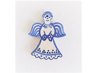Keramická miniatura andílka 2.
