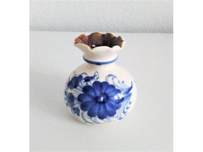 Keramická miniatura vázičky 2. - výška 6 cm