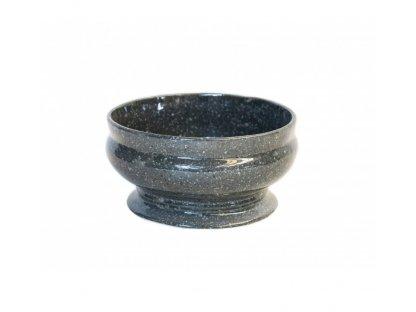Keramická mísa KK 70/23  průměr 23 cm, výška 12 cm-Mramor šedý