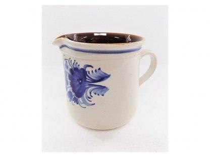 Keramická mlékovka na mléko ke kávě, čaji v. 12  cm - 12.
