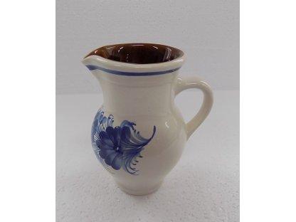 Keramická mlékovka na mléko ke kávě, čaji  v. 14 cm - 5.