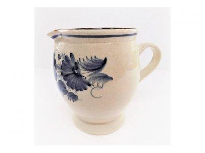 Keramická mlékovka na mléko ke kávě, čaji v. 15,5 cm - 11.
