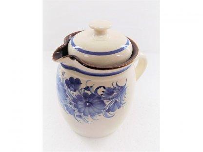 Keramická nádoba na mléko - velká v. 19 cm - 10.