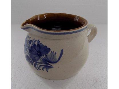 Keramická mlékovka na mléko ke kávě, čaji v. 9,5 cm - 13.