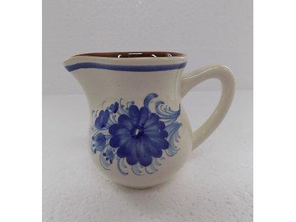Keramická mlékovka na mléko ke kávě, čaji v. 9,5 cm - 7.