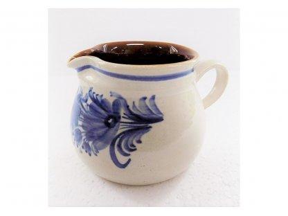 Keramická mlékovka na mléko ke kávě, čaji v. 9 cm - 14.