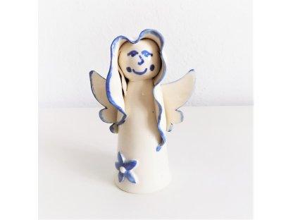 Keramická paní andělíčková