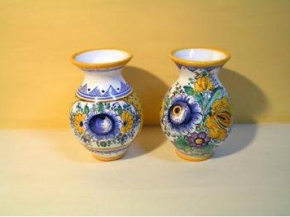 Keramická váza habánská , sada 2 kusy
