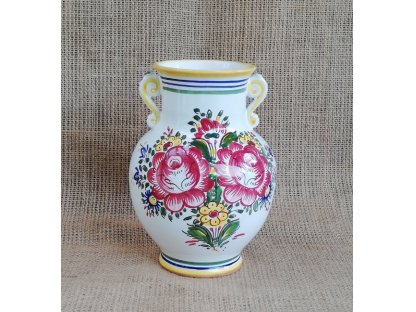Keramická váza s oušky slovácká