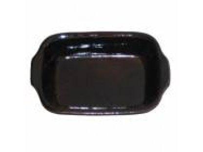 Keramická zapékací mísa malá délka 21 cm, šířka 14,5 cm ,objem 0,35 litru.