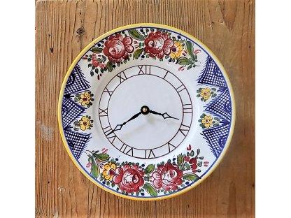 Keramické hodiny TU, slovácké