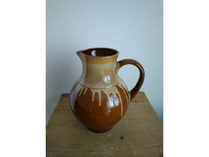 Keramický džbán na pivo, Martin objem 2,5 litrů, HP