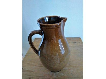 Keramický džbán na pivo, Vavřinec, MIX, Objem 1,5 litru
