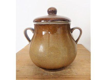 Keramický hrnec, Sádlák č.1 objem 1,8 litrů MIX