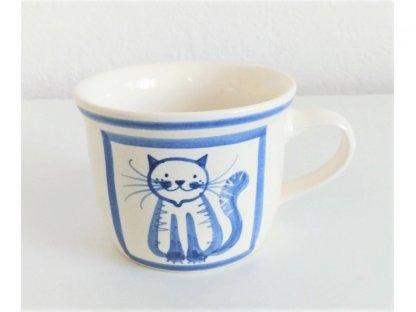 Keramický hrnek kočka sedí - 0,4 l - 5.