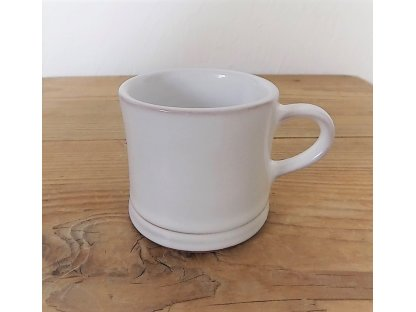 Keramický hrnek malý na kávu, preso - rustik